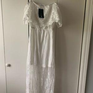 NEW Fashion Nova Lace Midi Dress